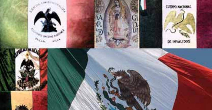 Historical Flags of Mexico Banderas Historicas Mexicanas