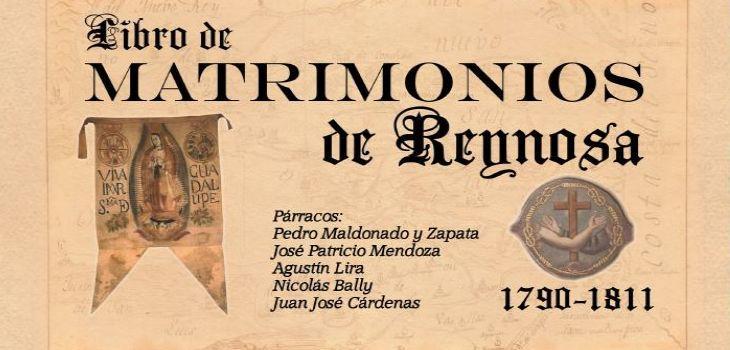 Libro de Matrimonios de Reynosa 1790 - 1811