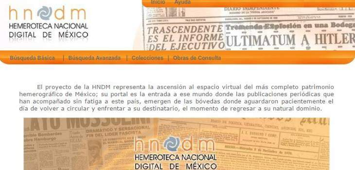Mexican Newspaper Archives