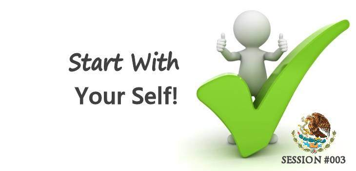 Start With Your Self