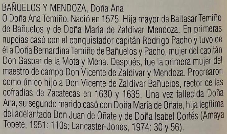 Ana Banuelos y Mendoza
