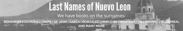 Last Names of Nuevo Leon