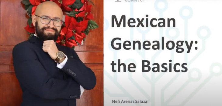 Mexican Genealogy:The Basics